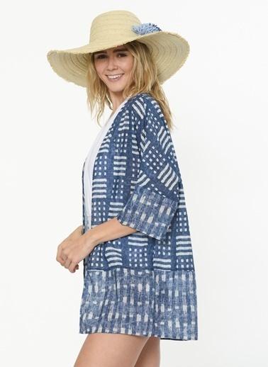 Akel Kimono İndigo